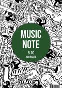Bloc Papier Musique A4 - Papeterie Musicale - laflutedepan.com