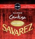 Jeu de Cordes Savarez Alliance Cantiga premium rouge tension normal laflutedepan.com
