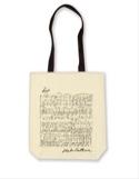Sac Shopping en coton - Beethoven Cadeaux - Musique laflutedepan.be