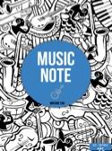 Cahier de Musique à spirale - Spécial tablature Guitare laflutedepan.com