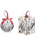 Boule de Noël instruments de musique laflutedepan.com