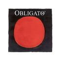 Corde violon OBLIGATO avec RÉ Argent boule, tirant moyen - laflutedepan.com