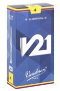Vandoren CR804 - Anches V21 Clarinette Si bémol 4.0 - laflutedepan.com