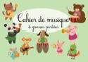 Cahier de Musique à Grosses Portées Cahier de Musique laflutedepan.com