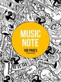 Cahier de Musique à spirale - 12 Portées - MUSIC NOTE laflutedepan.com