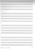 Raisin 16 Portées 4 par 4 Ivoire Papier à Musique laflutedepan.com