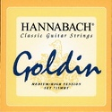 JEU de Cordes pour Guitare HANNABACH 725 GOLDIN - Tension Medium/High - laflutedepan.com