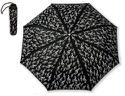 Petit Parapluie NOIR - CLÉ DE SOL - laflutedepan.com