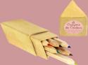 Petits crayons de couleurs étui triangle - laflutedepan.com