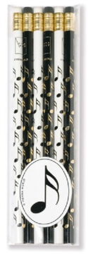 Set de 6 crayons - DOUBLE-CROCHE - laflutedepan.com
