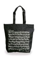 Sac Shopping - NOIR - BACH Cadeaux - Musique laflutedepan.com
