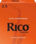 Anches 22-25 RICO ROYAL pour SAXOPHONE ALTO : FORCE 2,5 - laflutedepan.com