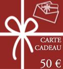 BON CADEAU - CARTE CADEAU - Valeur de 50 € BON CADEAU laflutedepan.com