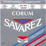 JEU de Cordes pour Guitare SAVAREZ ALLIANCE CORUM ROUGE / BLEU tirant standard laflutedepan.com