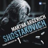 Martha ARGERICH : SHOSTAKOVICH Dimitri CHOSTAKOVITCH laflutedepan.com