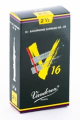 Anches pour Saxophone Soprano VANDOREN® - Vandoren SR7125 - Sopran Saxophonblätter - 2.5 - Musikzubehör - di-arezzo.de