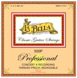 Cordes pour Guitare - LA BELLA L500P Professional Guitar String Set - Accessory - di-arezzo.co.uk