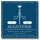 JEU de Cordes pour Guitare AUGUSTINE bleu impérial tirant fort laflutedepan