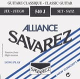 Cordes pour Guitare Classique - SET of Strings for Guitar SAVAREZ ALLIANCE BLUE strong pulling - Accessory - di-arezzo.com