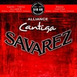 JEU de Cordes pour Guitare SAVAREZ CANTIGA ALLIANCE ROUGE tension normal - laflutedepan.com