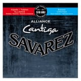 Cordes pour Guitare Classique - SET of Guitar Strings SAVAREZ CANTIGA ALLIANCE BLUE / RED mixed voltage - Accessory - di-arezzo.com