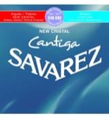 JEU de Cordes pour Guitare SAVAREZ CANTIGA NEW CRISTAL BLEU / ROUGE tension mi laflutedepan.com