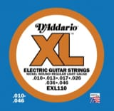 JEU de Cordes D'ADDARIO EXL110 Guitare Electrique Regular light laflutedepan
