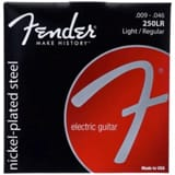 Cordes pour Guitare - Set of 6 Strings Fender 250LR Steel Plated Nickel Electric Guitar Light / Regula - Accessory - di-arezzo.co.uk