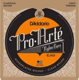 Cordes pour Guitare Classique - JEU de Cordes D'ADDARIO PRO ARTE - Light /Nylon Clair-Plaqué Argent - Accessoire - di-arezzo.fr