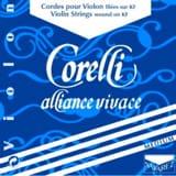 La violon 4/4 Corelli Alliance tirant medium laflutedepan.com