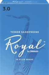 Anches pour Saxophone Ténor - D'Addario Rico Royal - Tenor Saxophone Reeds 3.0 - Accessory - di-arezzo.co.uk