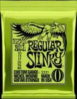 Cordes pour Guitare électrique - Strings Ernie Ball 2221 Electric Guitar Regular Slinky 10-13-17-26-36-46 - Accessory - di-arezzo.com