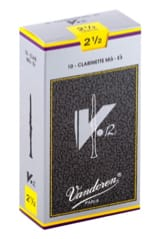 Anches pour Clarinette Mib VANDOREN® - Vandoren CR6125 - Reeds V12 Clarinet E flat 2.5 - Accessory - di-arezzo.co.uk