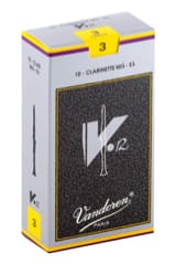 Anches pour Clarinette Mib VANDOREN® - Vandoren CR613 - Reeds V12 Clarinet E flat 3.0 - Accessory - di-arezzo.co.uk