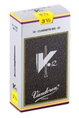 Anches pour Clarinette Mib VANDOREN® - Vandoren CR6135 - Anches V12 Clarinette Mi bémol 3.5 - Accessoire - di-arezzo.fr