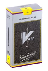 Anches pour Clarinette Mib VANDOREN® - Vandoren CR614 - Reeds V12 Clarinet E flat 4.0 - Accessory - di-arezzo.co.uk