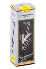 Anches pour Clarinette Basse VANDOREN® - Vandoren CR6225 - Reeds V12 Bass Clarinet 2.5 - Accessory - di-arezzo.co.uk