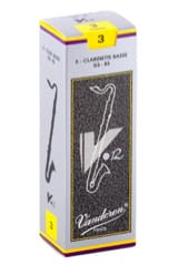 Anches pour Clarinette Basse VANDOREN® - Vandoren CR623 - Reeds V12 Bass Clarinet 3.0 - Accessory - di-arezzo.co.uk