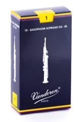 Anches pour Saxophone Soprano VANDOREN® - ヴァンドレンSR201 - ソプラノサクソフォン1.0リード - アクセサリー - di-arezzo.jp