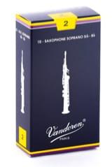Anches pour Saxophone Soprano VANDOREN® - Vandoren SR202 - Sopran Saxophonblätter 2.0 - Musikzubehör - di-arezzo.de