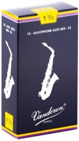 Anches pour Saxophone Alto VANDOREN® - Vandoren SR2115 - Alto Saxophone Reeds 1.5 - Accessory - di-arezzo.com