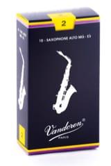 Anches pour Saxophone Alto VANDOREN® - Vandoren SR212 Alto Alto Saxophone Reeds - Accessory - di-arezzo.com