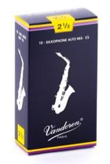 Vandoren SR2125 - Anches Saxophone Alto 2.5 - laflutedepan.com