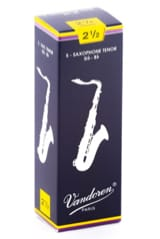 Anches pour Saxophone Ténor VANDOREN® - Vandoren SR2225 - Tenor Saxophone Reeds 2.5 - Accessory - di-arezzo.co.uk