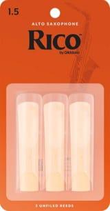 Anches pour Saxophone Alto - D'Addario Rico - Alto Saxophone Reeds 1.5 - Accessory - di-arezzo.com