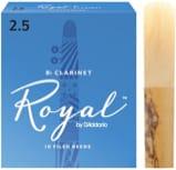 Anches pour Clarinette Sib RICO® - D'Addario Rico Royal - Bb Clarinet Cañas 2.5 - Accesorio - di-arezzo.es