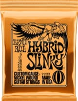 Cordes pour Guitare électrique - Strings Ernie Ball 2222 Electric Guitar Regular slinky 09-11-16-26-36-46 - Accessory - di-arezzo.com