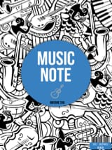 Cahier de Musique - Spiral Music Notebook - Guitar Tab Special - Stationery - di-arezzo.co.uk