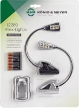 2 Lampes K&M Led FLEX LIGHTS Accessoire pour Musicien laflutedepan.com