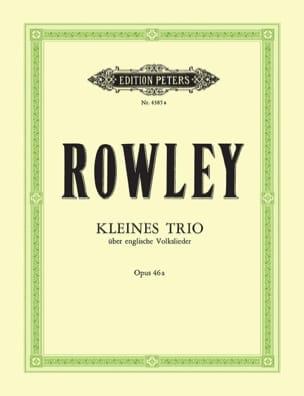 Alec Rowley - Kleines Trio op. 46a - Partition - di-arezzo.fr